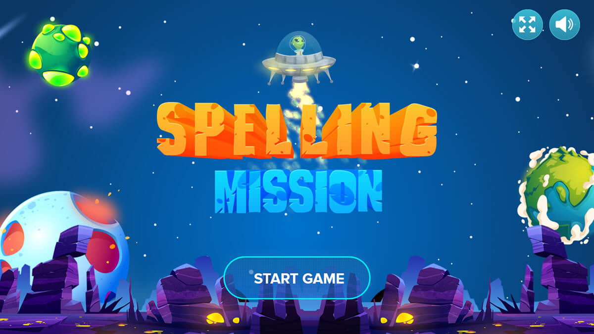 Spelling Mission